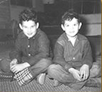 Jim (right) and his brother Jerry